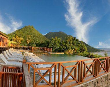 Jungle Bay Terrasse