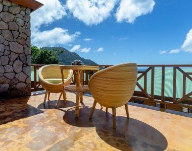 Jungle Bay Villa Terrasse