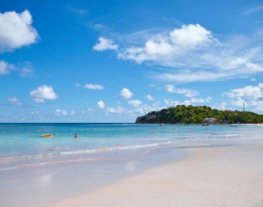A beautiful Caribbean beach