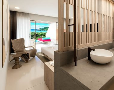 Moon Gate Antigua Premium Suite with Pool Full Room View